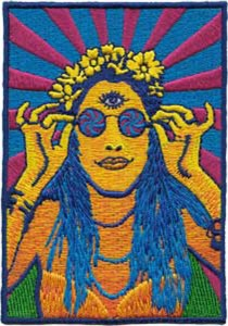Hippy Chick Patch