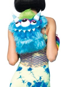 Furry Monster Backpack