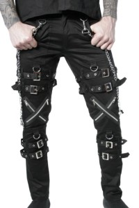 Gothic Cyber Rave Trousers