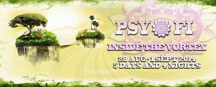"PSY-FI ""INSIDE THE VORTEX"" OPEN AIR FESTIVAL 2014"