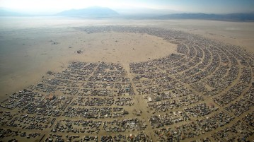 Burning Man Festival 2015 LIVE broadcast