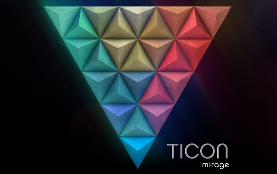 Ticon - mirage album cover