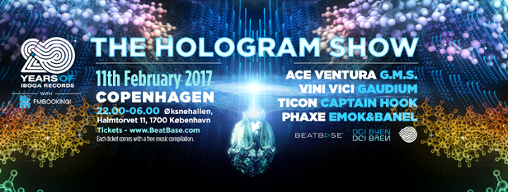 Iboga 20 years Hologram Show