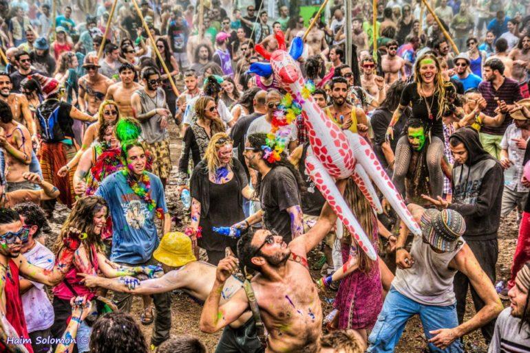 doof festival dance floor