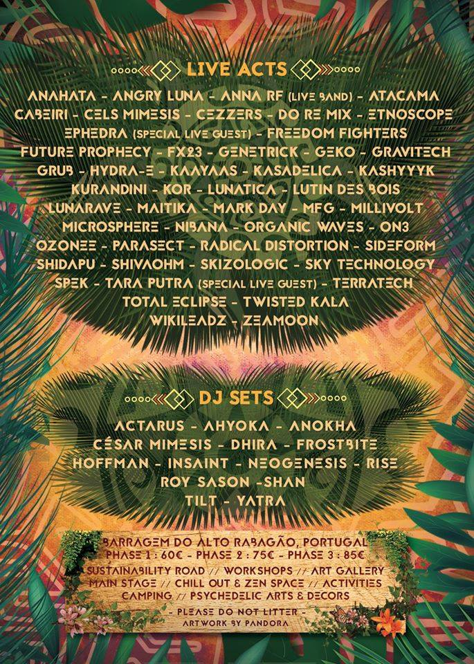 Forest Soul Gathering Line Up