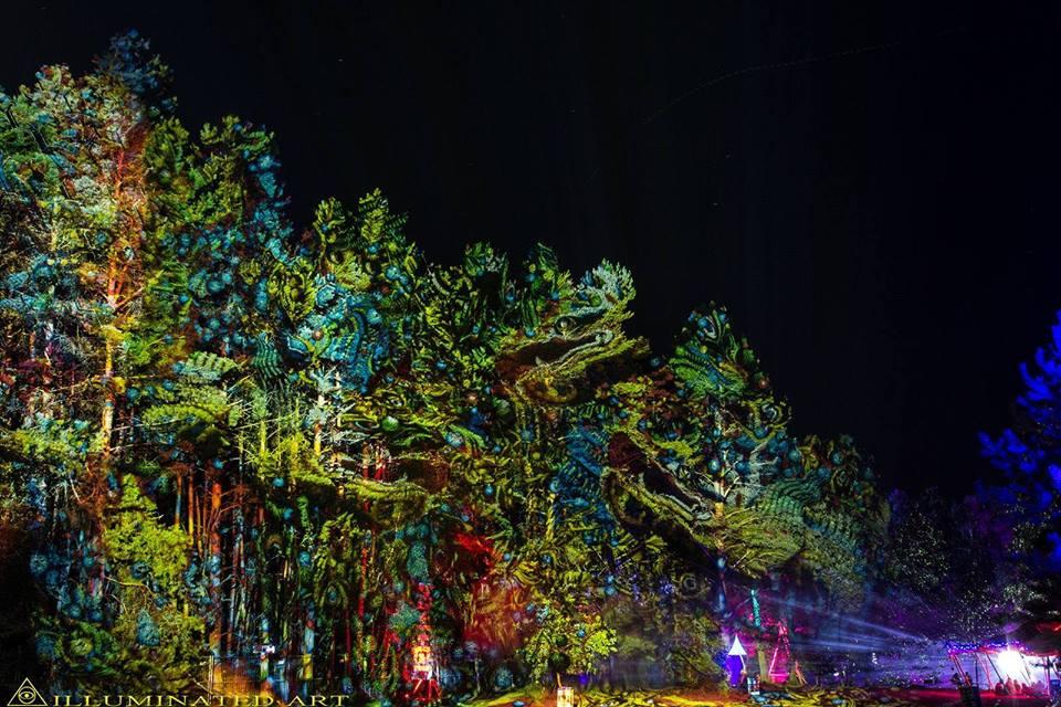 Underground psytrance Festivals