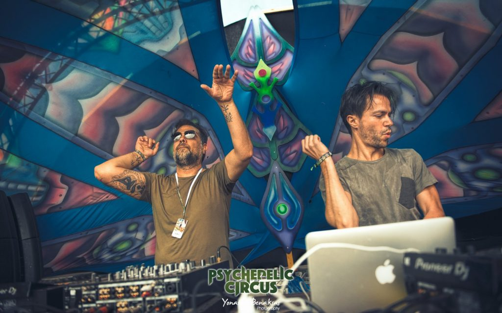 3 Of Life live @ Psychedelic Circus Festival (Ph: Yonatan Benaksas Photograpsy)