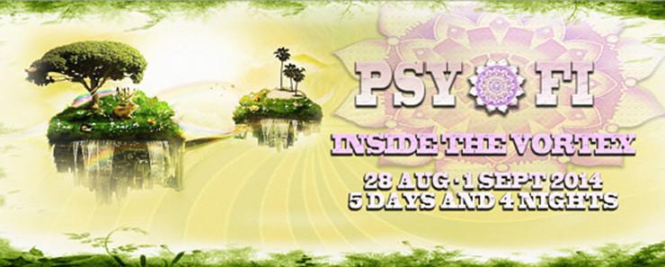 "PSY-FI ""INSIDE THE VORTEX"" OPEN AIR FESTIVAL 2014"