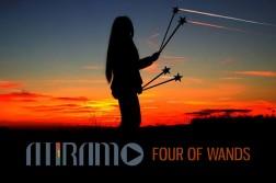 Atiramo - Four of wand